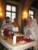 Liturgie am 14.01.2012 – Erzpriester Chrysostomos und Priester Wassilij
